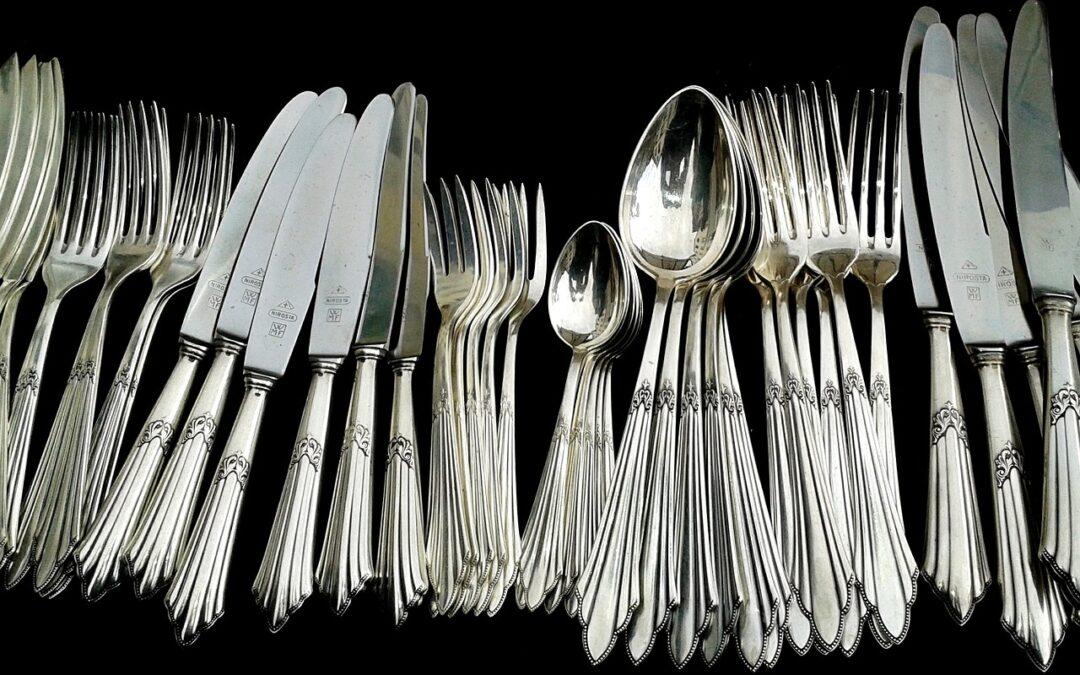 Hvor sælger man sølvbestik? historien bag sølv